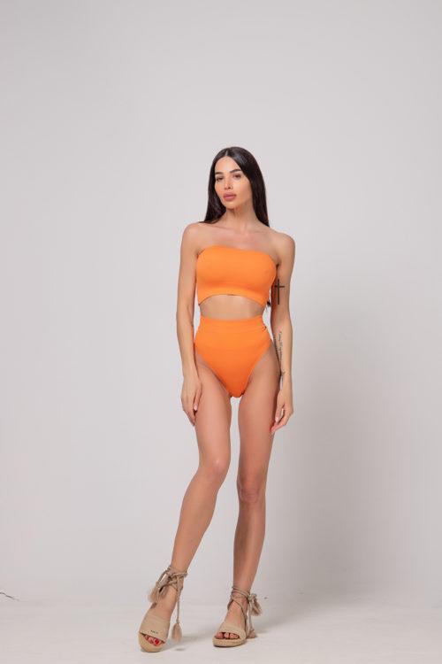 alice-evis-orange-strapless-bustier