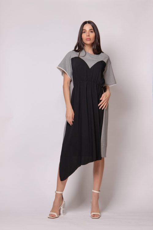 mm6-maison-margiela-colour-block-jersey-dress