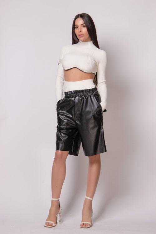 natasha-zinko-faux-leather-shorts