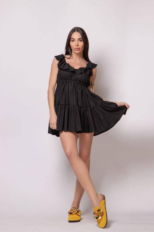 evis-style-black-summer-dress