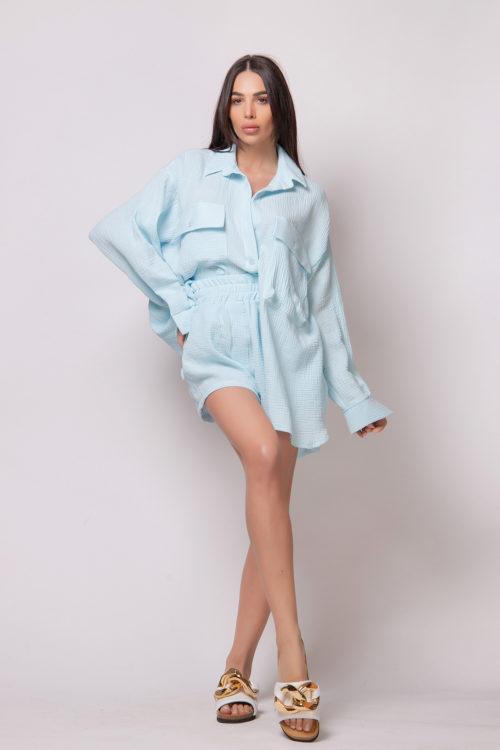 evis-style-light-blue-split-open-back-shirt