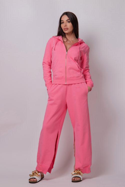 mm6-maison-margiela-sweatshirt-with-brand-detail-pink