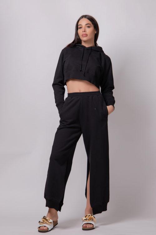 mm6-maison-margiela-black-cropped-hoodie