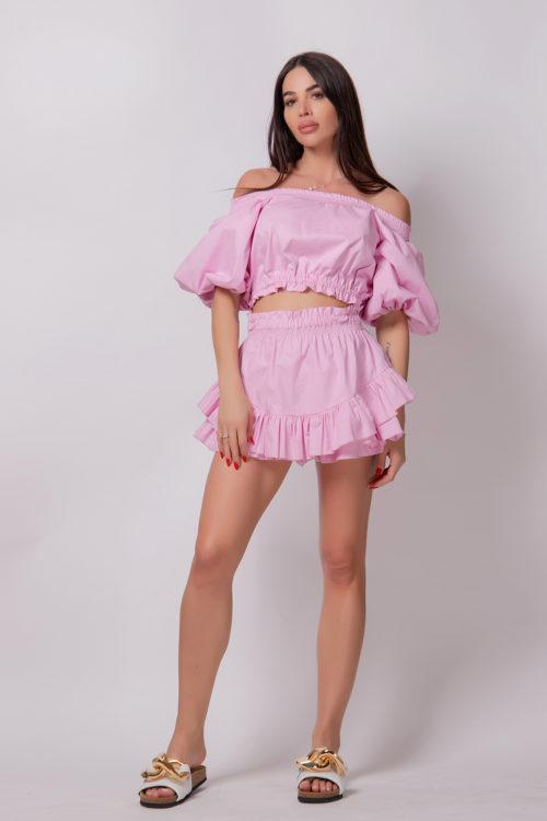 alice-evis-pink-puffed-crop-top
