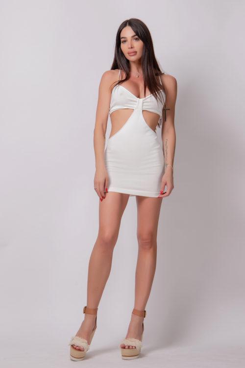 alice-evis-cut-off-slim-fit-dress-short-white